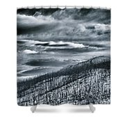 Land Shapes 27 Shower Curtain