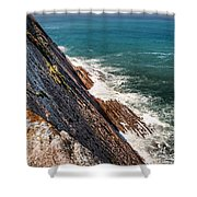 Sea And Cliff Shower Curtain