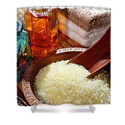 Sea Bath Salts Shower Curtain