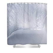 Sea Blue Water Abstract Shower Curtain