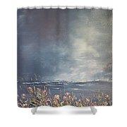 Sea Breeze Fynbos Shower Curtain