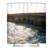Sea Caves Shower Curtain