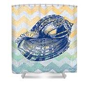 Sea Shell-c Shower Curtain