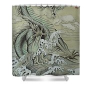 Sea Dragon Shower Curtain