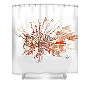 Sea Dude  Shower Curtain