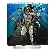 Sea Elf Shower Curtain