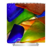 Sea Glass II Shower Curtain