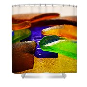 Sea Glass IIi Shower Curtain