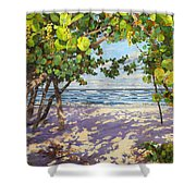Sea Grape Delight Shower Curtain