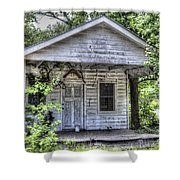 Sea Island Shack Shower Curtain
