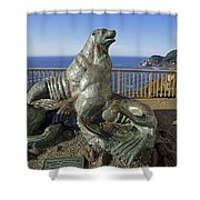 Sea Lion Caves - Oregon Shower Curtain