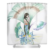 Sea Maiden Shower Curtain