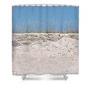 Sea Oat Love Shower Curtain