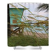 Sea Oats And The Tower Shower Curtain