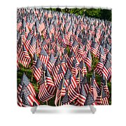 Sea Of Flags Shower Curtain