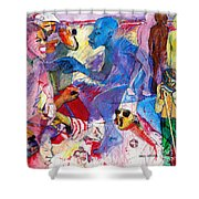 Sea Of Hate Shower Curtain