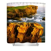 Sea Of Time Shower Curtain