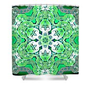 Sea Serpents Shower Curtain