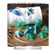 Sea Stars Mini Soap Shower Curtain