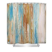 Sea Stripes-jp2494 Shower Curtain