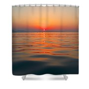 Sea Sunset Shower Curtain
