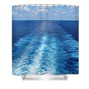 Sea Trails Shower Curtain