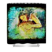 Sea Turtle Love Shower Curtain