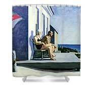 Sea Watchers Shower Curtain