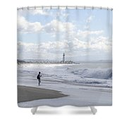 Seabright Beach Shower Curtain