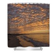 Seabright Sunrise Shower Curtain