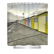 Seaford Beach  Shower Curtain