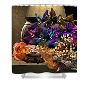 Seagrove Rose Shower Curtain