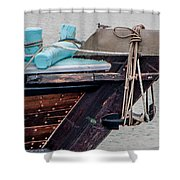 Seagul On A Dow's Bow Shower Curtain