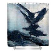 Seagull Grace Shower Curtain