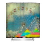 Seagull's Delight Shower Curtain