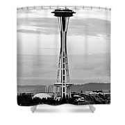 Seahawk Pride Shower Curtain by Benjamin Yeager