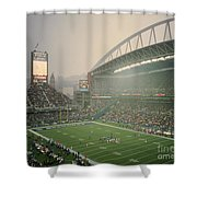 Seahawks Stadium 2 Shower Curtain