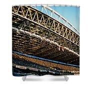 Seahawks Stadium 3 Shower Curtain