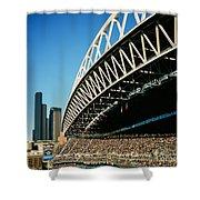 Seahawks Stadium 5 Shower Curtain