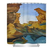 Seal Cove Shower Curtain