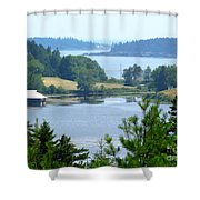 Seal Harbor Maine Shower Curtain