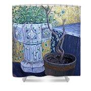 Sean's Planter Shower Curtain