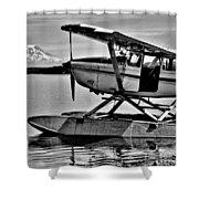 Seaplane Standby Shower Curtain