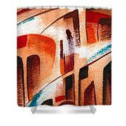 Search Of The Beginning Shower Curtain