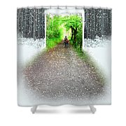 Searching Better Weather Shower Curtain