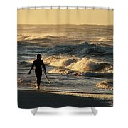 Searching For The Perfect Wave Shower Curtain