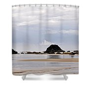 Searching For Treasures Shower Curtain