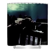 Searching For Vindication Shower Curtain