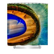 Searching Shower Curtain by Omaste Witkowski