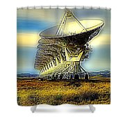 Searching The Stars Shower Curtain